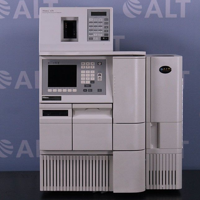 Waters Alliance 2695 HPLC with 474 Scanning Fluorescence Detector
