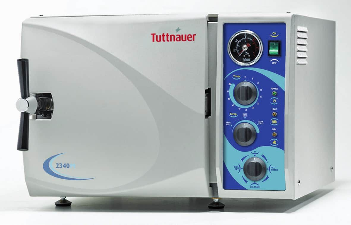 Tuttnauer 2340m Manaul Autoclave - Brand New - Booth Medical