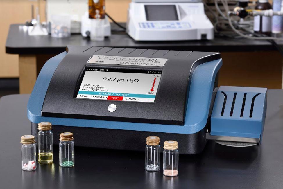 Computrac Vapor Pro XL Reagent-free Moisture Specific Analyzer
