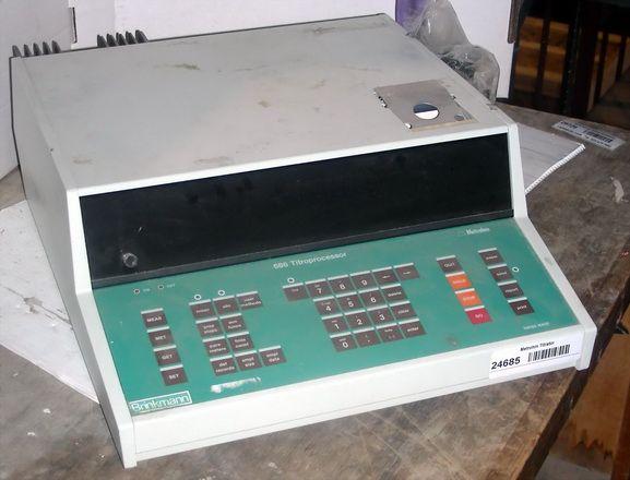Metrohm 686 Titroprocessor Processor for Titrator