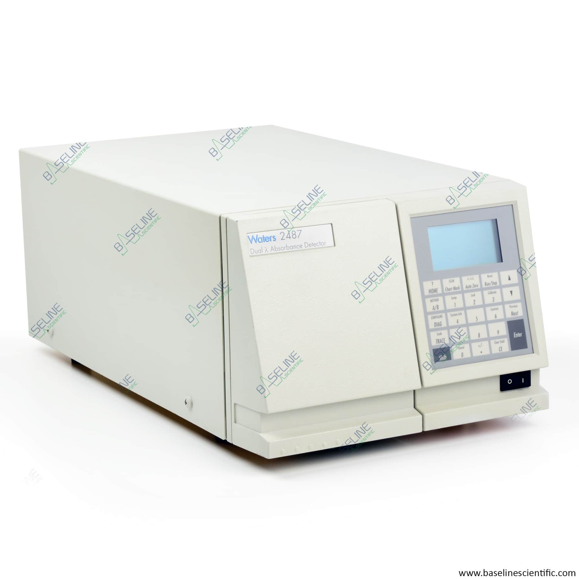 Refurbished Waters 2487 HPLC Dual Absorbance Detector with ONE YEAR WARRANTY