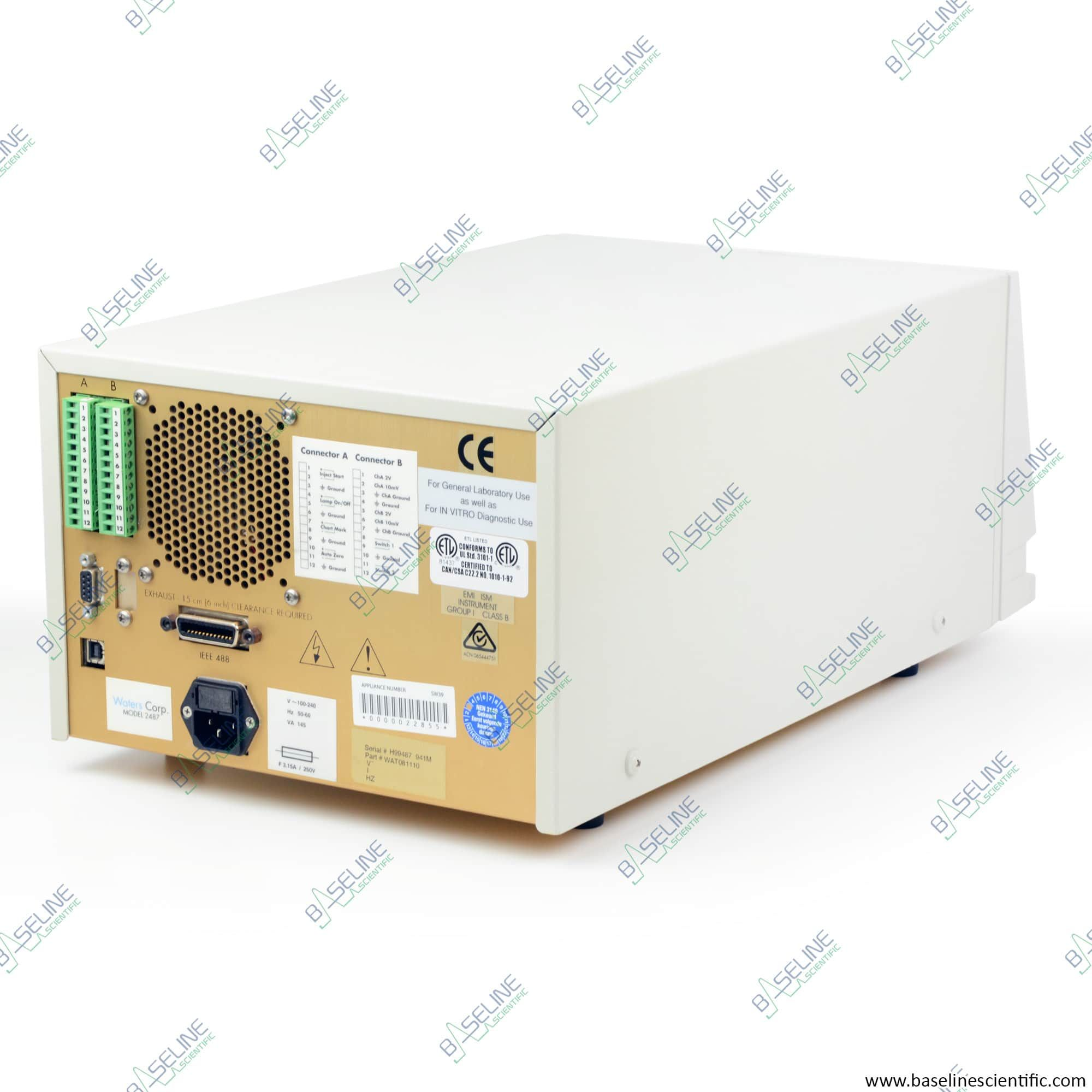 Refurbished Waters Alliance 2695 and 2487 UV Detector with ONE YEAR WARRANTY