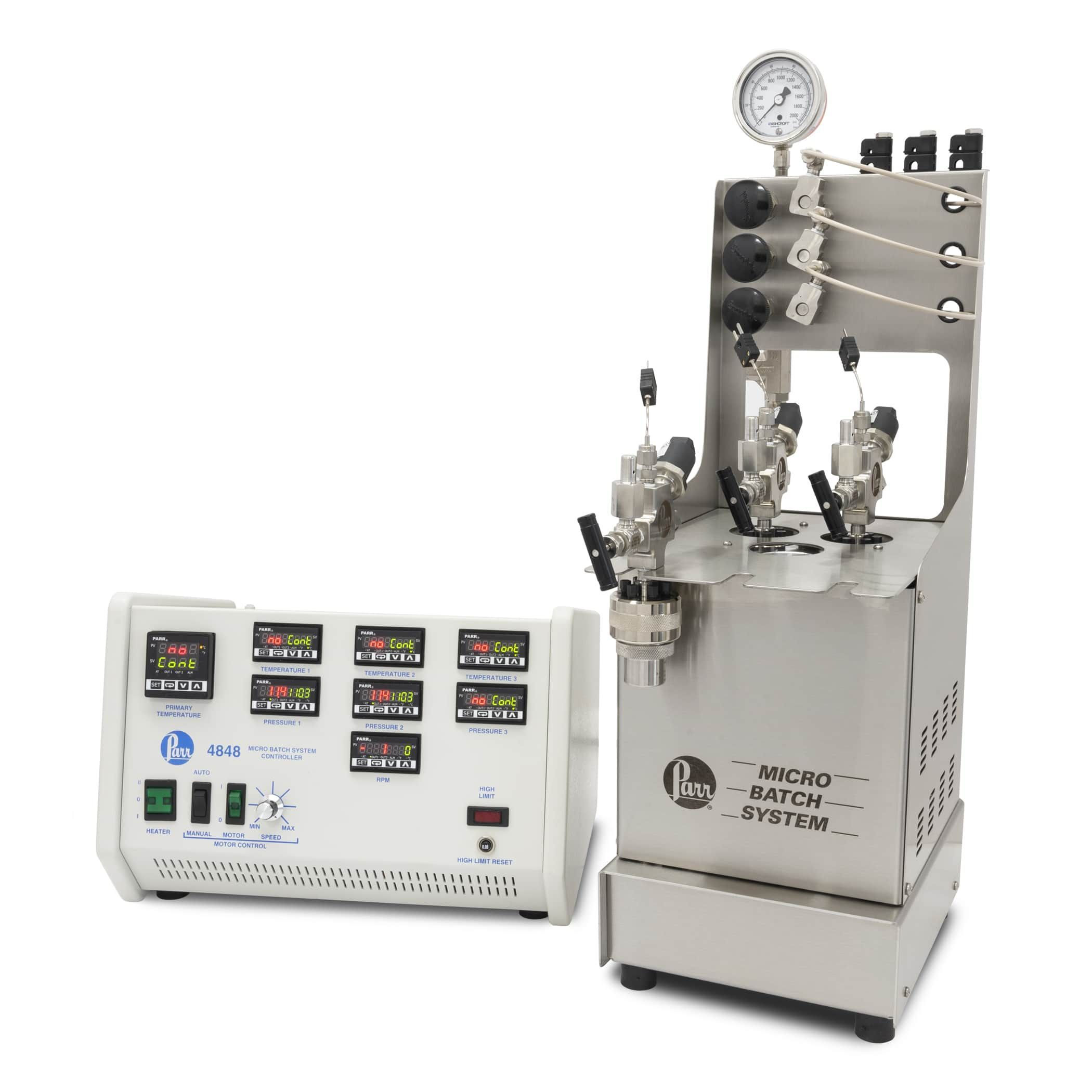 Parr Instrument Company- Series 2500 Micro Batch System