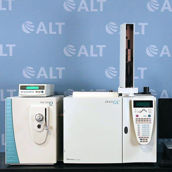 Thermo Finnigan PolarisQ Ion Trap Mass Spectrometer With Thermo Trace Gas Chromatograph