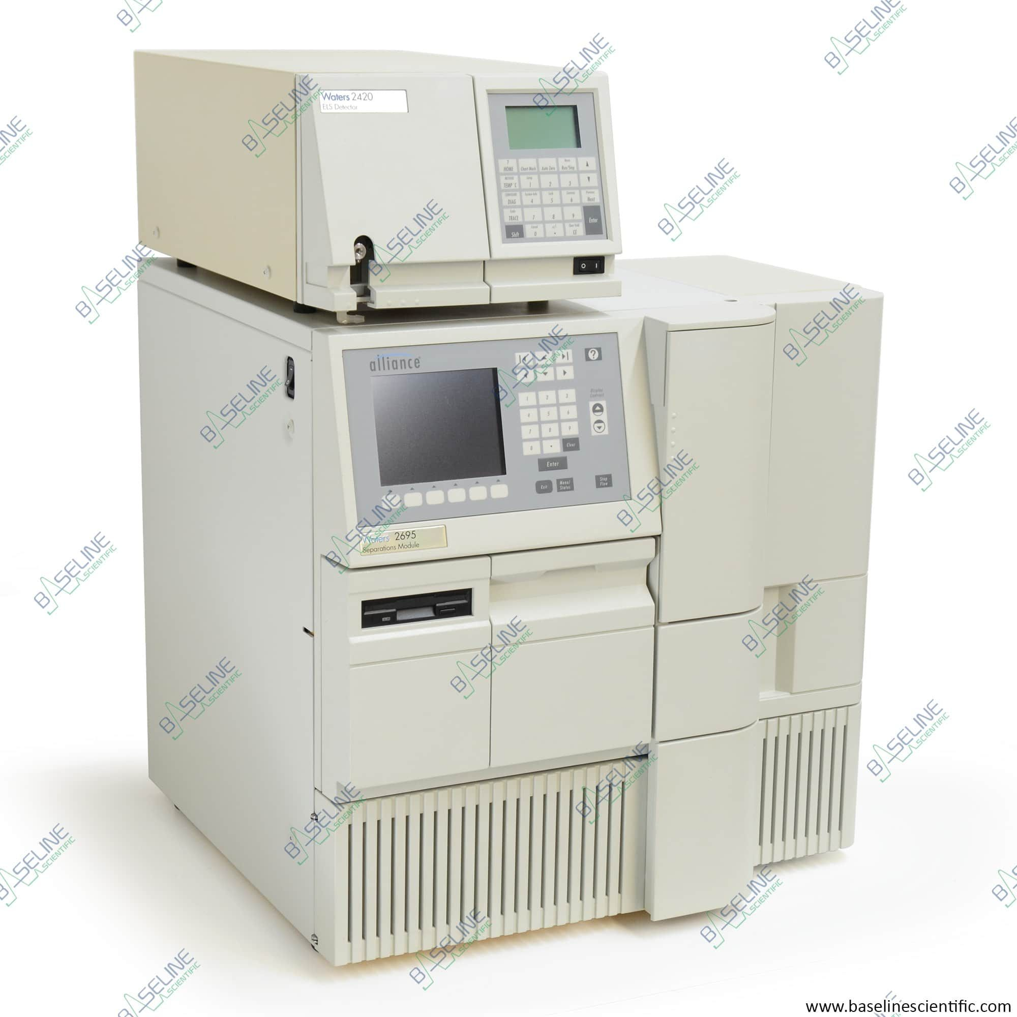 Refurbished Waters Alliance 2695 with 2420 ELSD and ONE YEAR WARRANTY