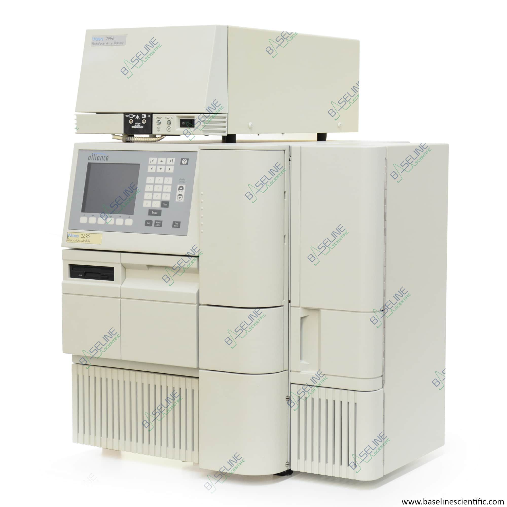 Refurbished Waters Alliance 2695 and 2996 PDA with ONE YEAR WARRANTY