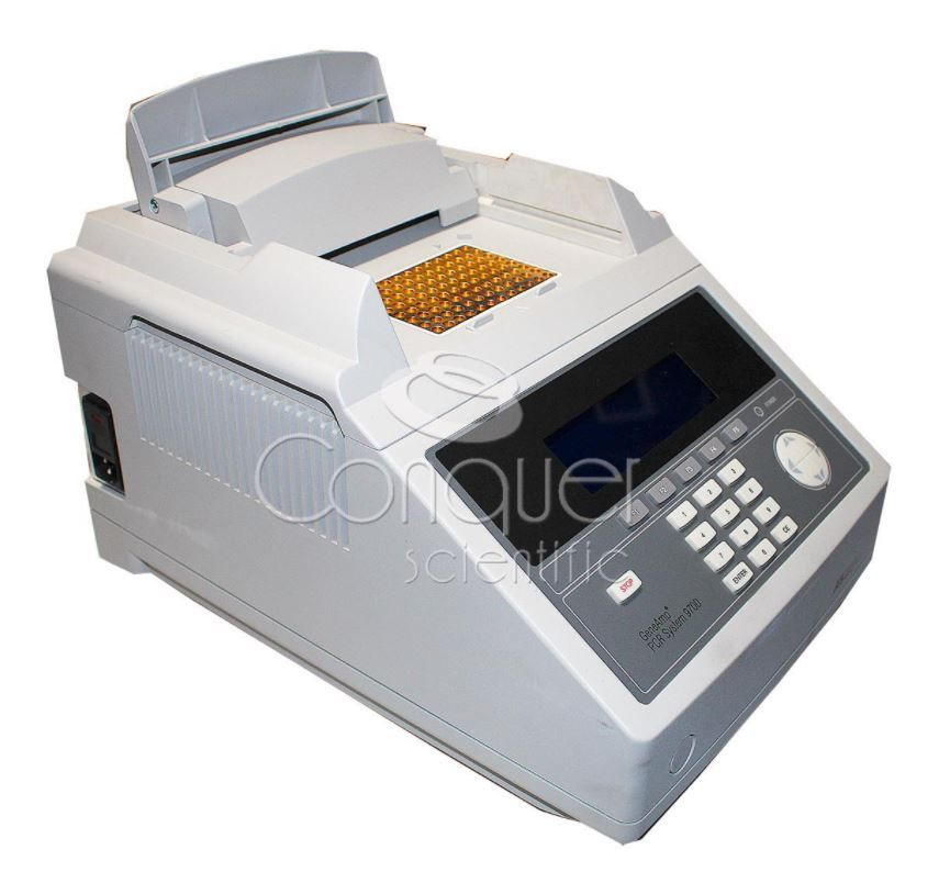 Applied Biosystems GeneAmp PCR System 9700 with Gold Plated Sample Block