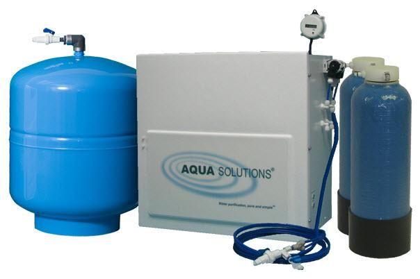 AQUA SOLUTIONS Model:RODI-T2-H- High Capacity Reverse Osmosis plus Type II DI System