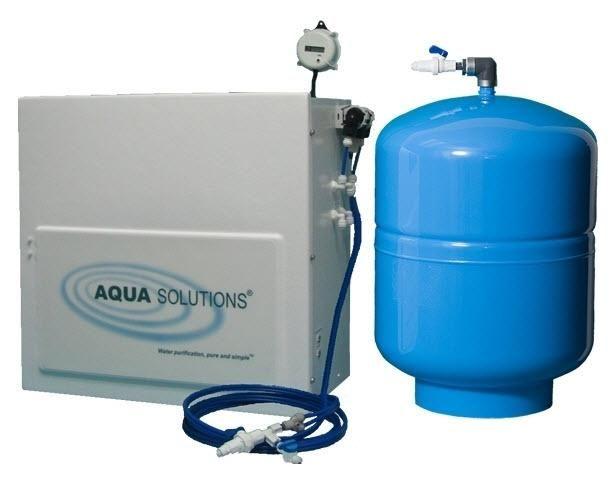 AQUA SOLUTIONS Model:RODI-T2 - Reverse Osmosis plus Type II DI System