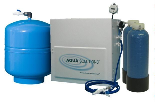 AQUA SOLUTIONS Model:RODI-T2-H- High Capacity Reverse Osmosis plus Type II DI System