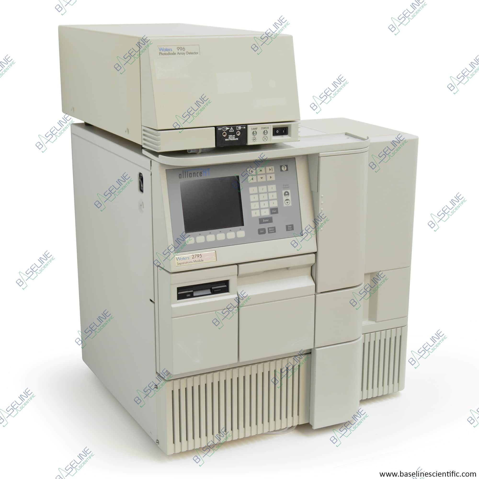 Refurbished Waters Alliance HT 2795 and 996 PDA with ONE YEAR WARRANTY