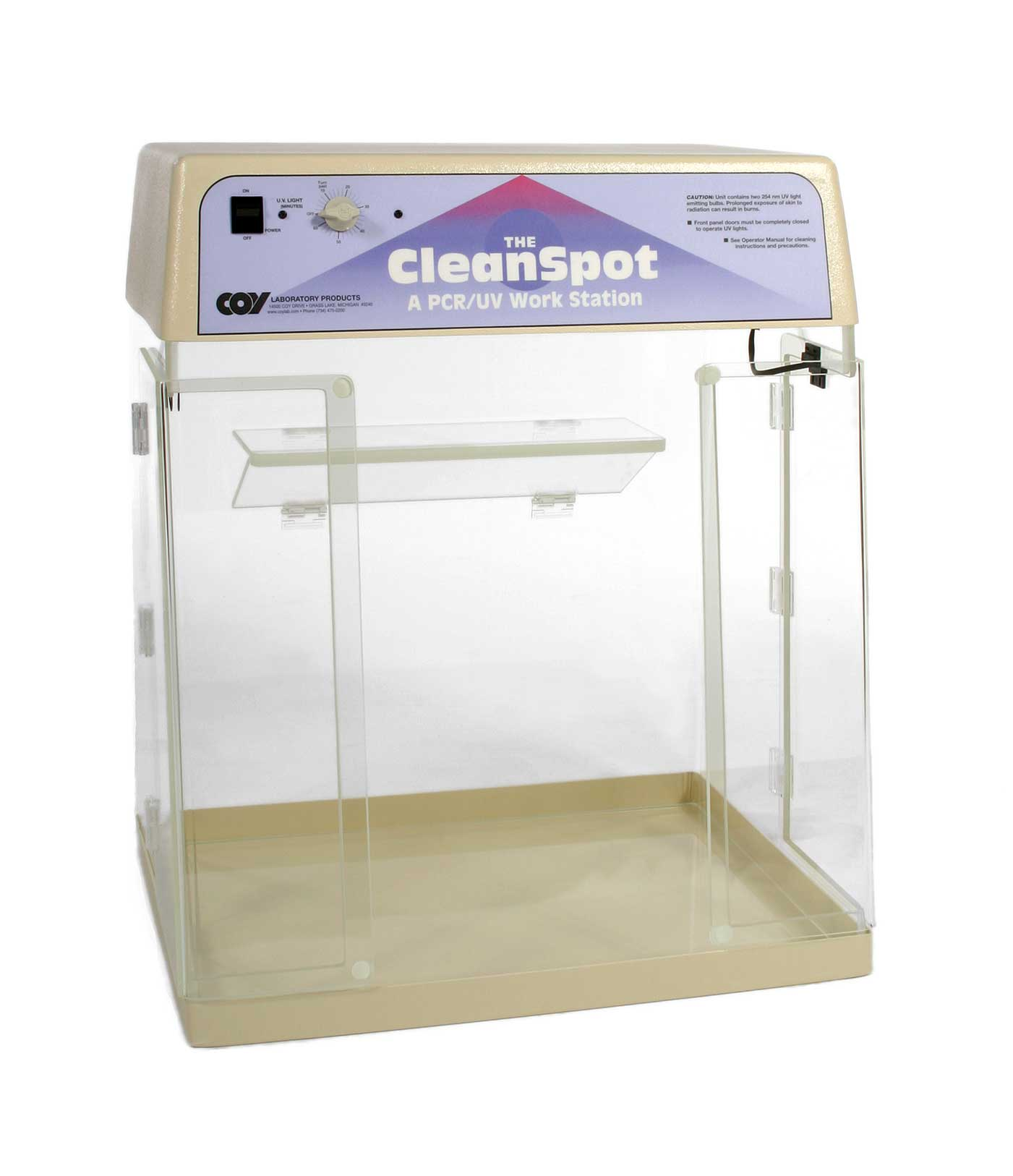 CleanSpot PCR Workstation from COY Labs