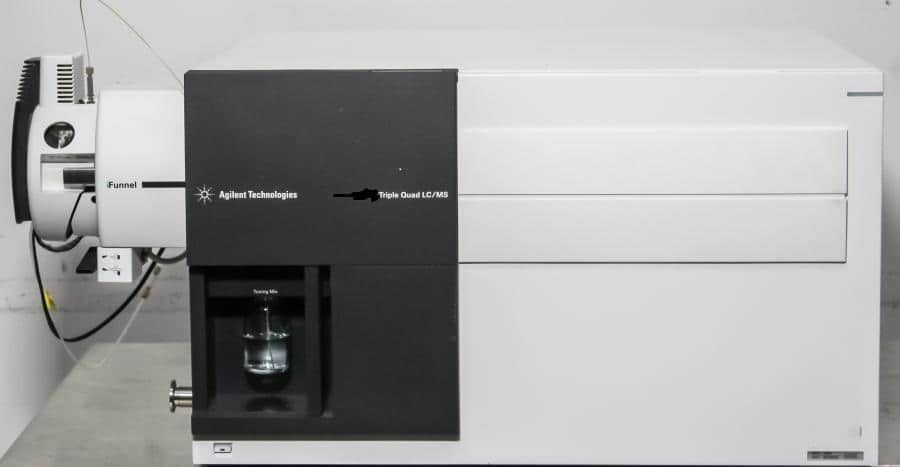 Agilent 6490A Triple Quadrupole LC/MS System with iFunnel technology.
