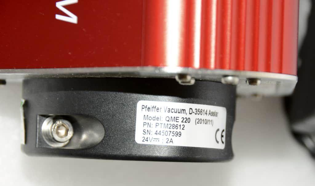 Pfeiffer PrismaPlus QMG-220 Spectrometer QME-220 QMA-200
