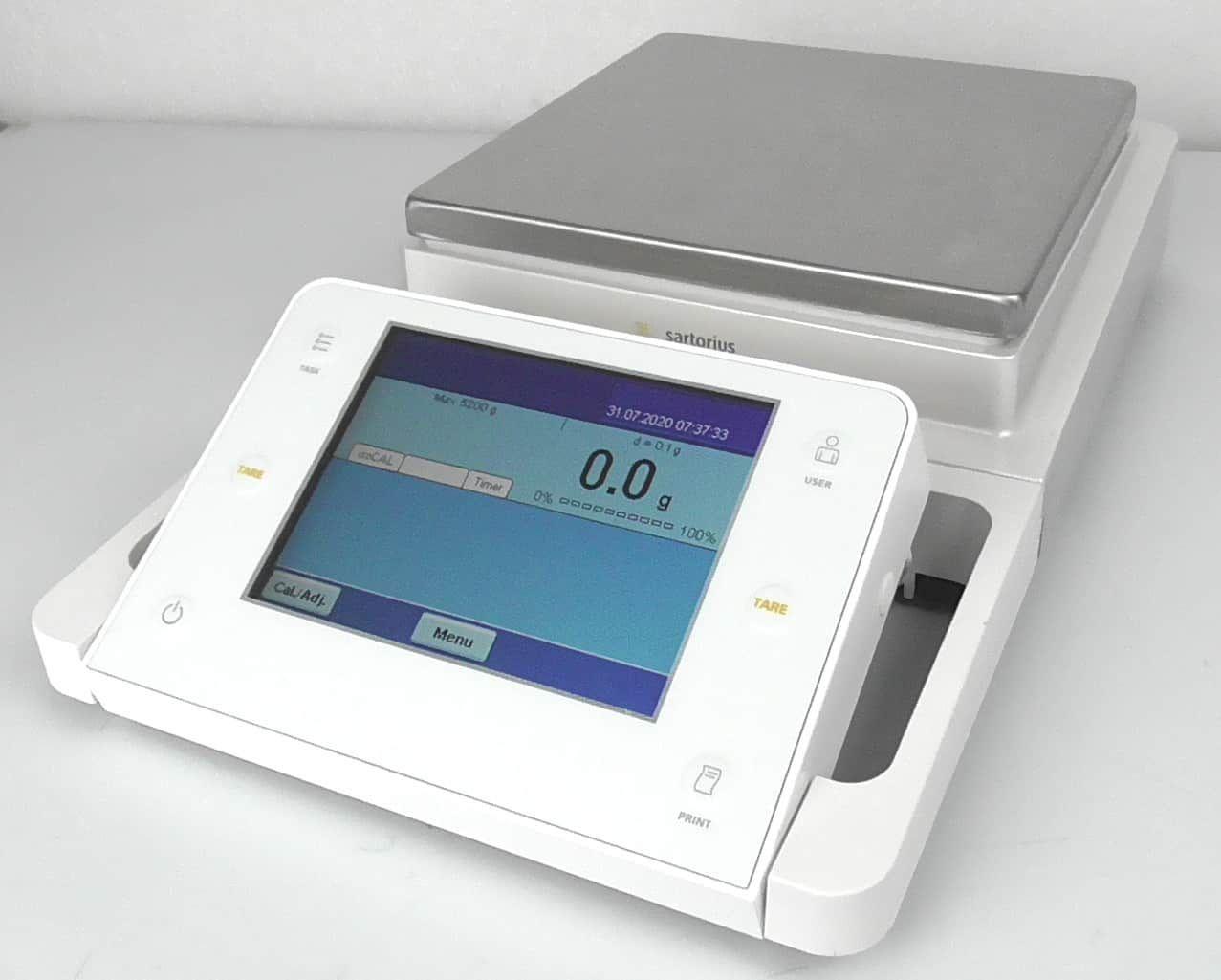 Sartorius MSA5201S Balance with YDP30 Printer