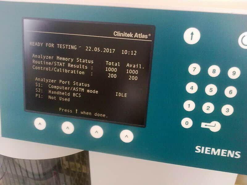 BAYER/SIEMENS Clinitek 50/500/Status/other