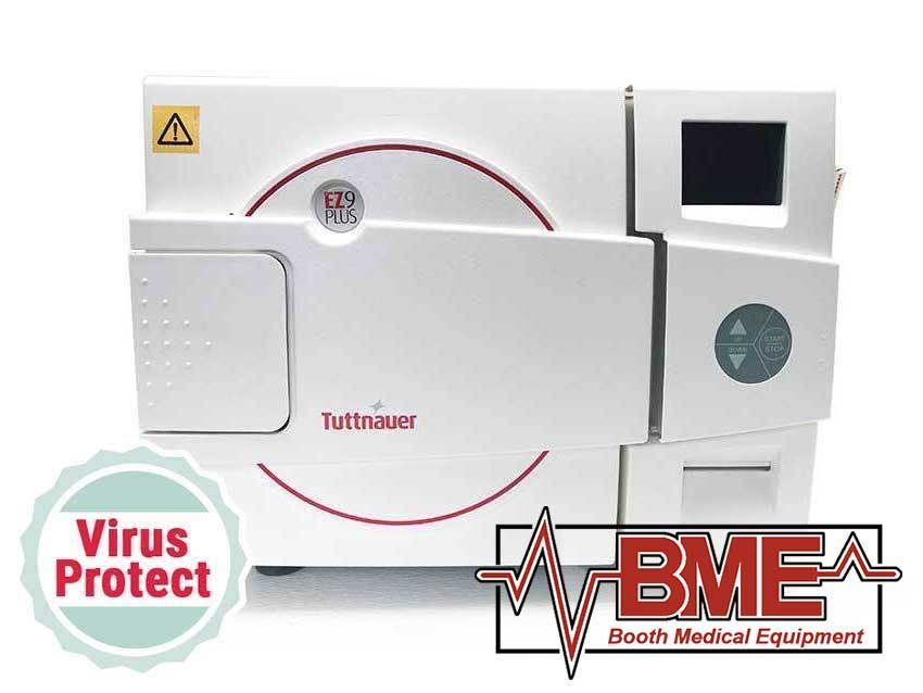 EZ9Plus Tuttnauer Automatic Autoclave - New - In Stock - Boothmed