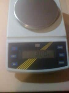 5 kg weighing & counting, .01g accuracy