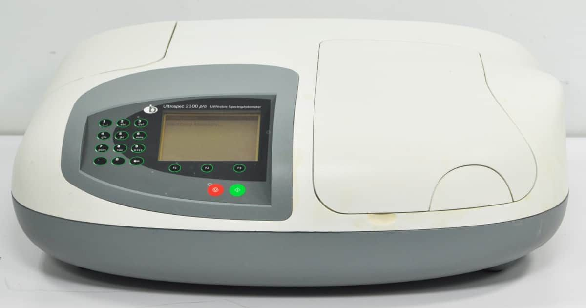 Biochrom   Ultrospec 2100 Pro Scanning, UV-Visible Spectrophotometer