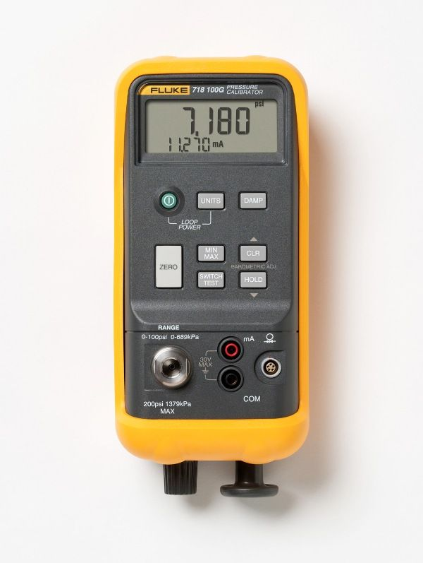 Fluke Enhances its Family of Pressure Calibrators