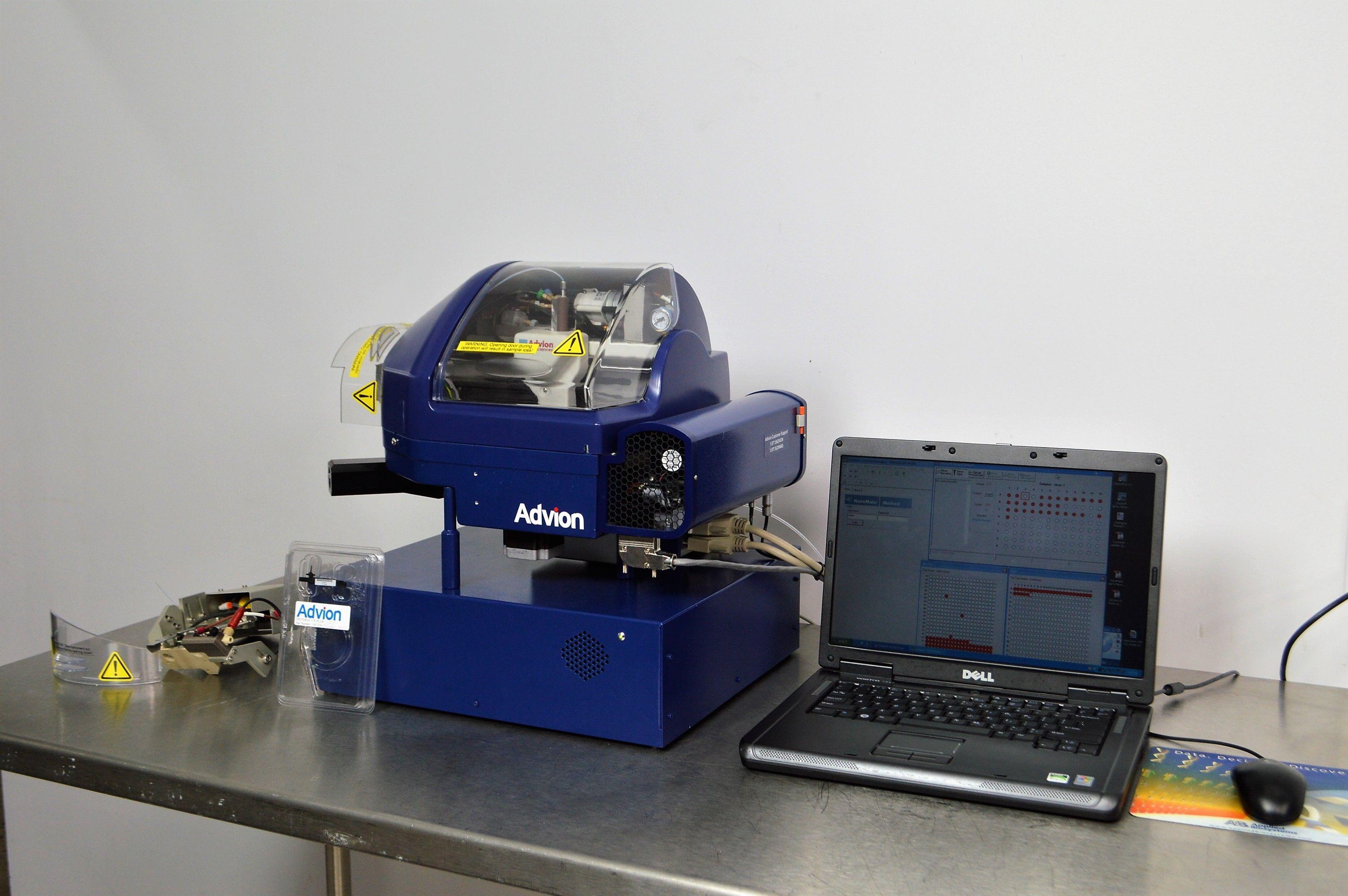 Advion TriVersa Nanomate Electrospray Ionization Robot Controller Software LC-MS