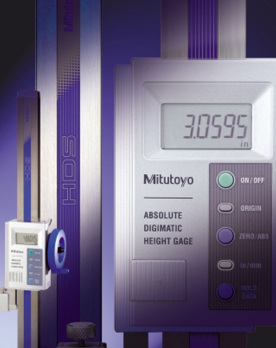 NEW: Absolute Digimatic Height Gage!