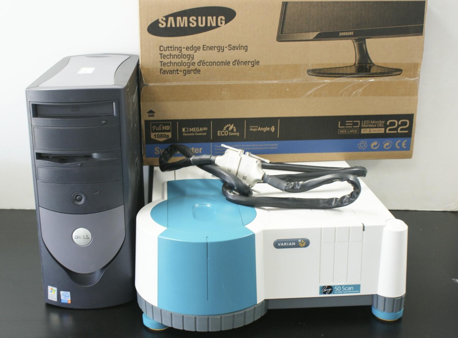Varian CARY 50 SCAN Agilent Varian CARY 50 Scan UV-VIS Spectrophotometer Varian Spectrophotometer