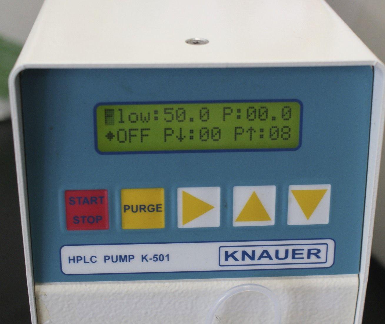 Knauer HPLC pump Knauer K-501 Knauer K501 Prep Pump Knauer Preparative pump for HPLC 50 ML Pump head