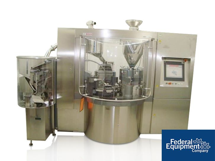 Bosch Capsule Filler w/ Integrated Checkweigher