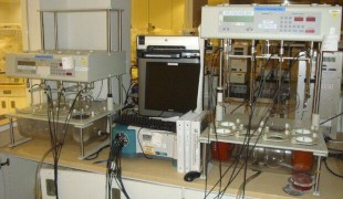 C Technologies IO Fiber Optic Dissolution System with Varian Cary 50 Spectrophotometer & Fiber Optic