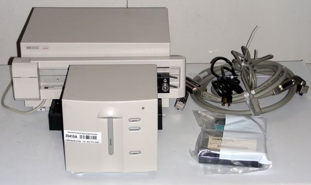 Hewlett Packard 8453 Diode-Array Spectrophotometer
