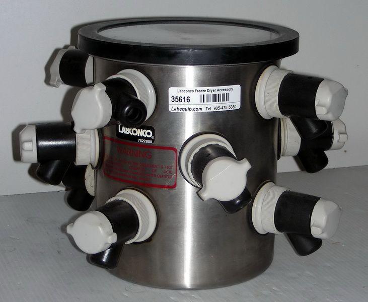 Labconco 7522800 Drum Manifold Freeze Dryer Component | For