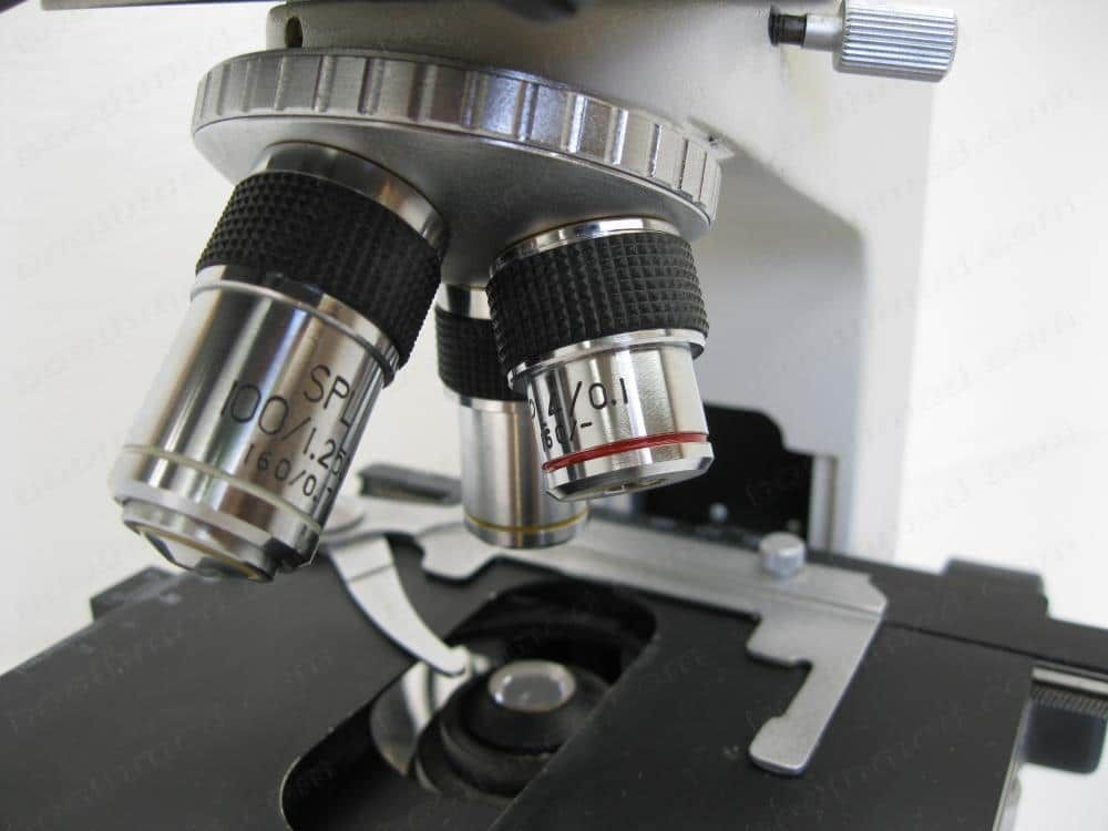 Microscope, Allegiance Baxter M3000