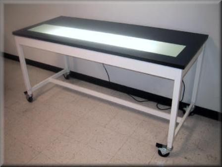 Illuminated Table Top Light Tables from RDM