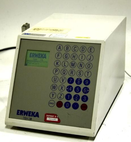 Erwika TBH 30 Tablet Hardness Tester 12897