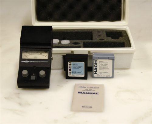 Hach Colorimeter Model DR100 Model 41100-56 10479