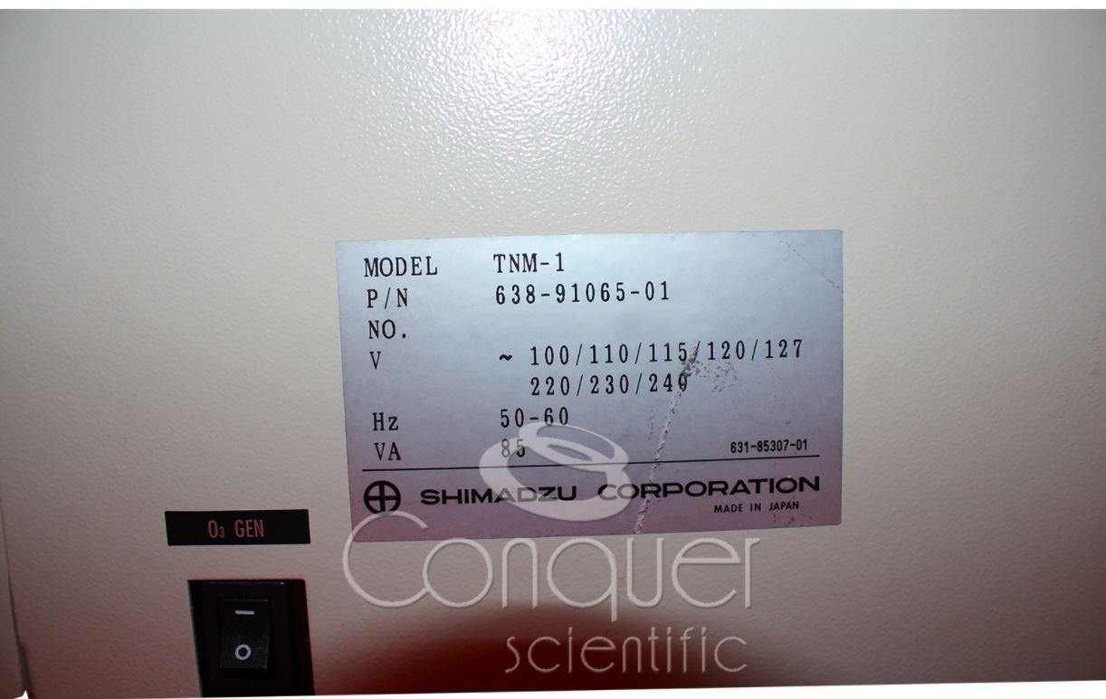 Shimadzu On-Line TOC-V CSH Total Organic Analyzer with TNM-1 Total Nitrogen Measurement