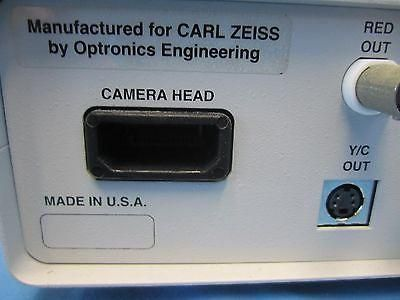 Carl Zeiss ZVS1470 Medical Endoscopy Video Camera Interface Controller KP# D2 6