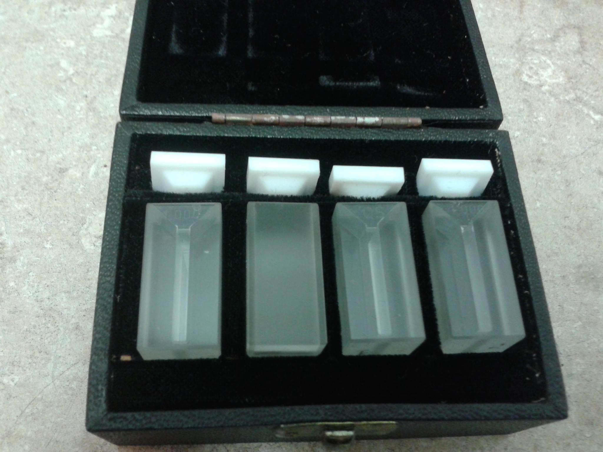 Set of 4 Quartz Vis/UV Mini-Cuvette