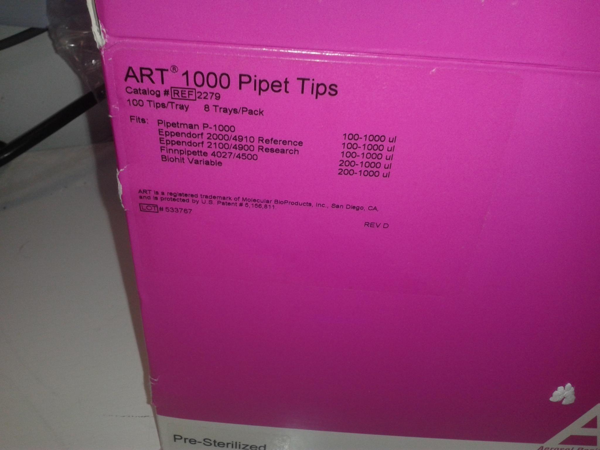 Molecular Bioproducts ART 100 REF2297 ,1000ul Tips
