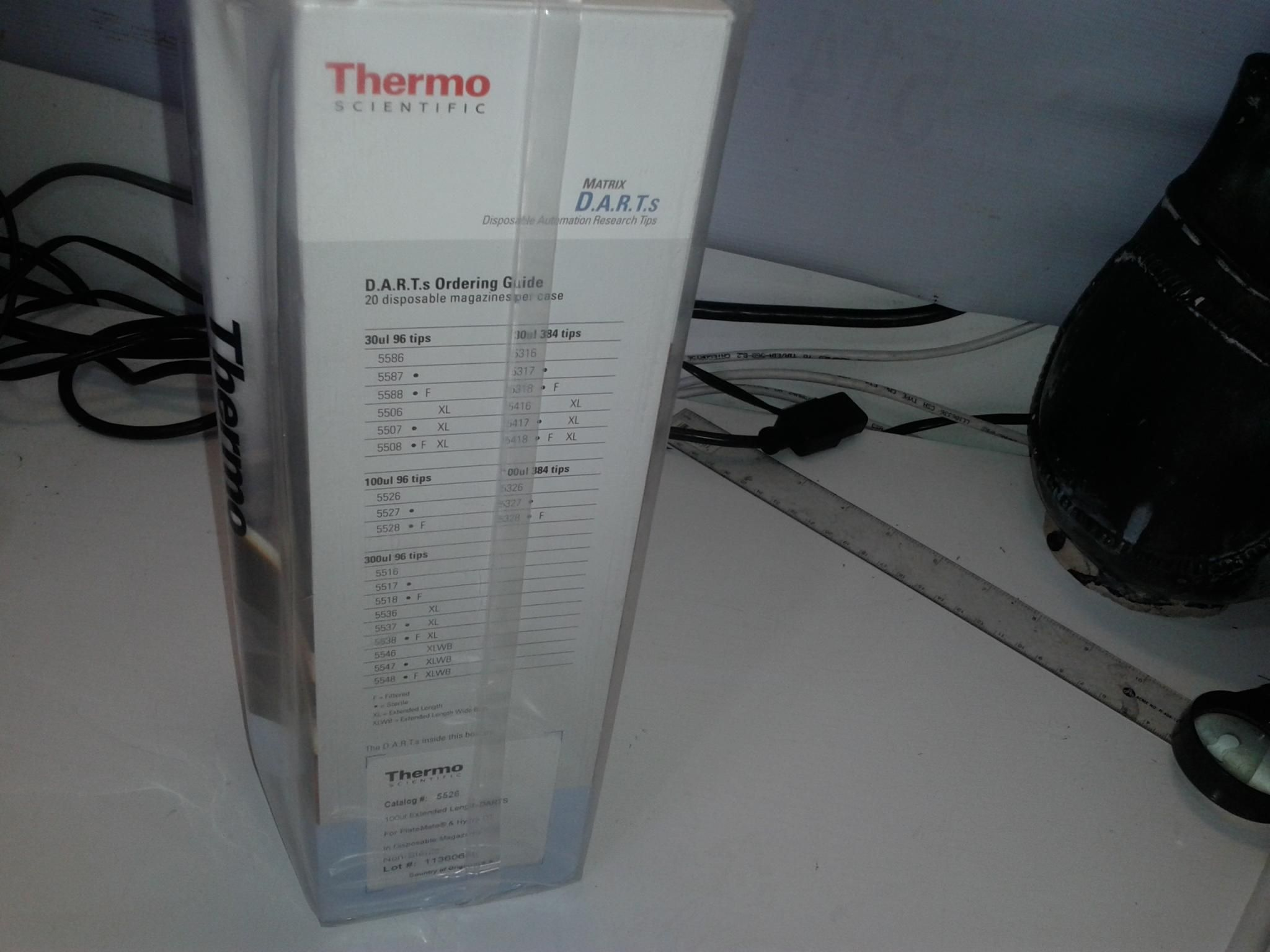New Thermo 300ul DART disposable automated plate mate cat.5516