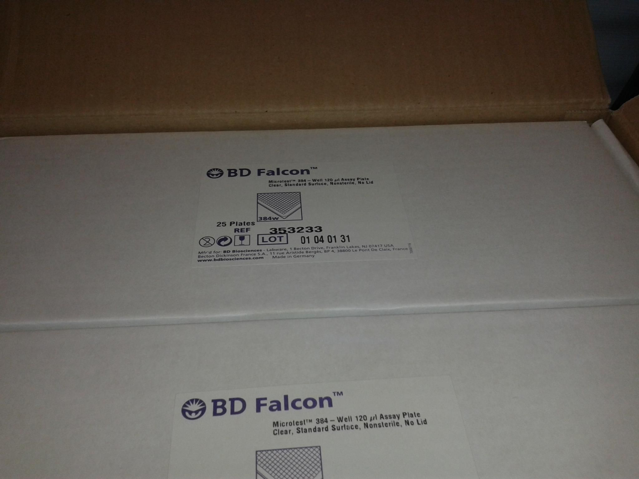 BDFalcon Microtest 384 well 120ul Assay Plate,cat353233
