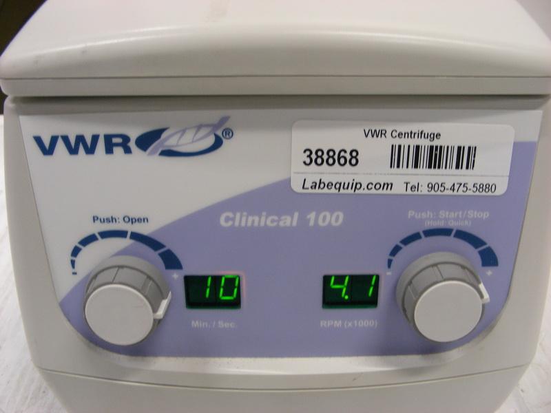 VWR Clinical 100 Bench-model Centrifuge