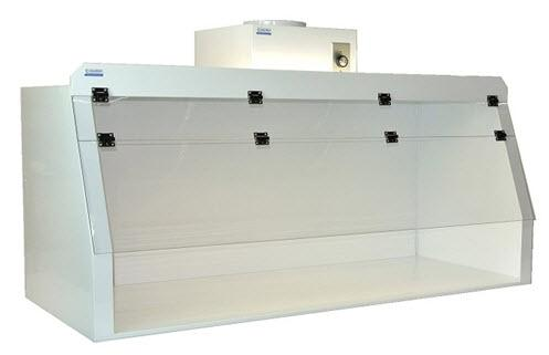 Cleatech Chemical Resistant Fume hoods, Series, Polypropylene