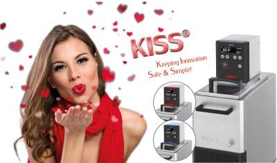 Huber PR131 KISS with economical cooling and heating circulator