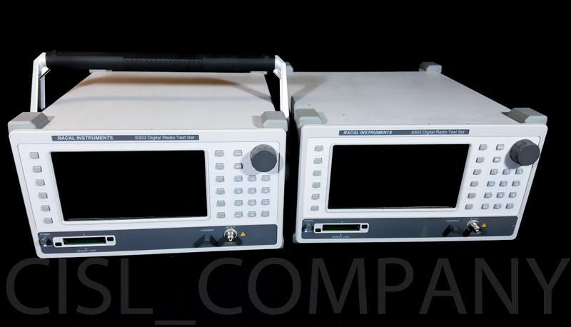 Set of 2 Racal 6303 Digital Radio Test Set