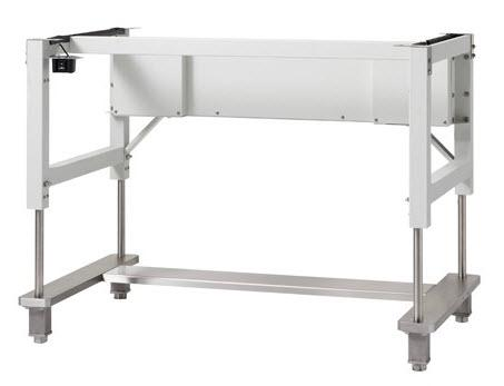 NuAire 5 Ft. Wide Motorized Adjustable Height Base Stand with Leg Levelers (NU-475/477/480-500)