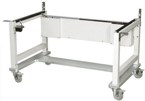 """NuAire 6Ft. Wide Adjustable Height Stand w/4"""" Stainless Steel Casters (NU-PR797/NR797/NTE797-600)"""