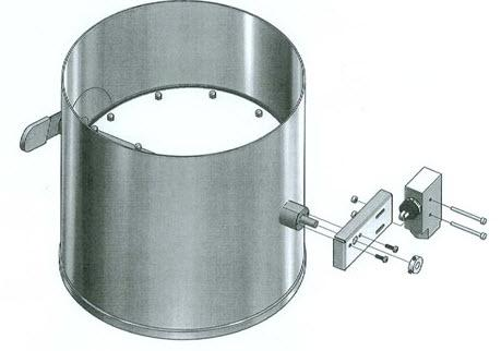 """NuAire Damper Position End Switch (8"""", 10"""",12"""" Dampers only)"""