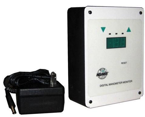 NuAire Digital Manometer Monitor 115V